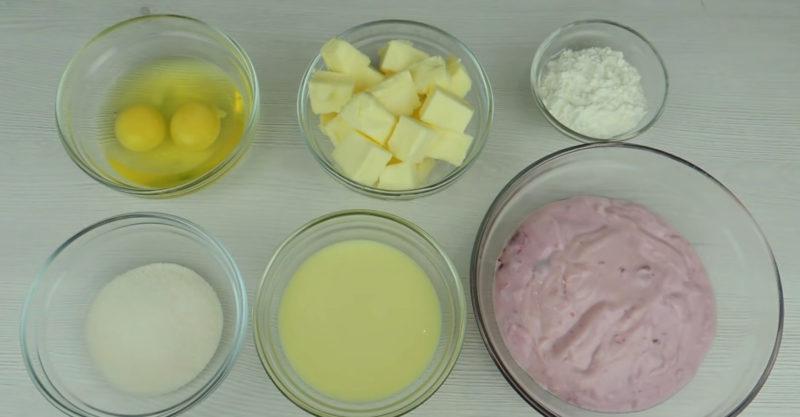 крем из йогурта